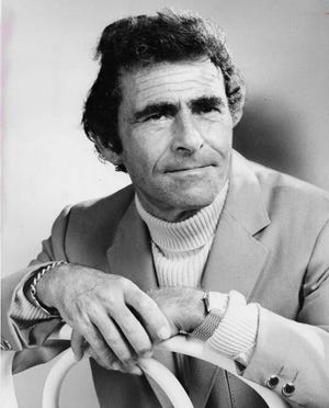 Television writer Rod Serling (1924-1975) delivered an Akron lecture in March 1971.