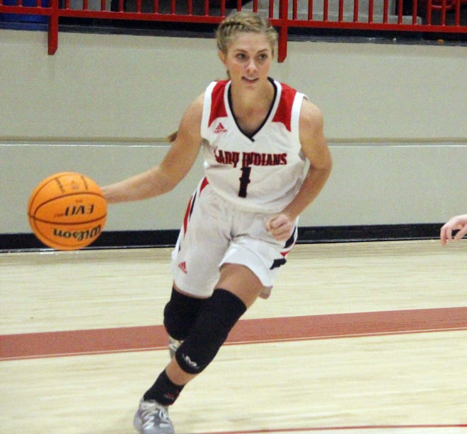 Plainview's Reagan Chaney tallied a game-high 17 points on Tuesday to lead the Lady Indians to a 49-21 victory over Mount St. Mary at the 4A District Tournament.