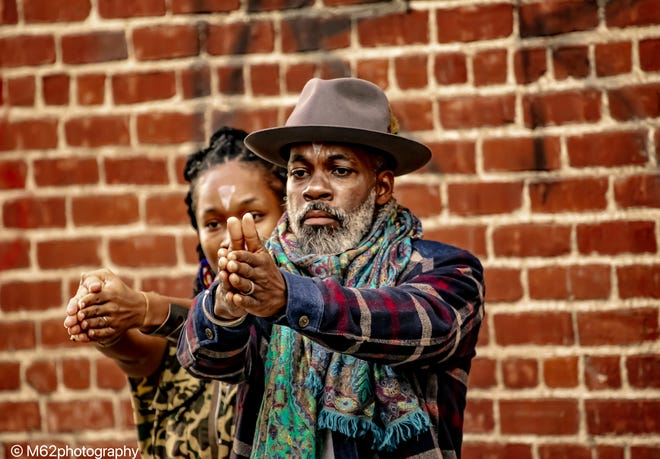 """Composer/sound designer Everett Saunders, right, and choreographer/performer Marjani Forté-Saunders will perform in the 7NMS collaboration of """"Prophet"""" as part of a series of virtual dance programs presented by The Yard in Chilmark."""