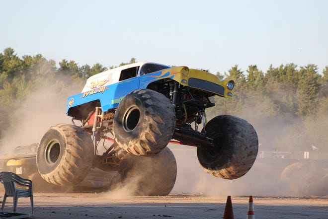 Four monster trucks and four mega trucks will show off their stuff at the Cheboygan County Fair this coming August. A new vendor will be bringing this show to town after the contract for the event was approved at the commissioners meeting Tuesday morning.