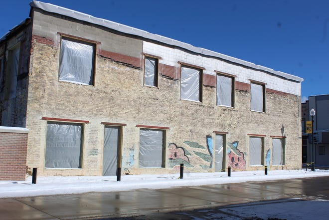 The owners and developers of the building to the north of the bunny wall are anticipating the wall being deeded to them by the City of Cheboygan. However, there are differing opinions as to whether there will be compensation from the city to repair the wall.