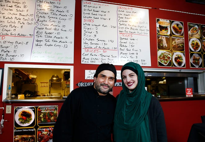 Zulfiqar Ali and Meredith Spano opened Jasmine Fusion Grill at 560 S High St.