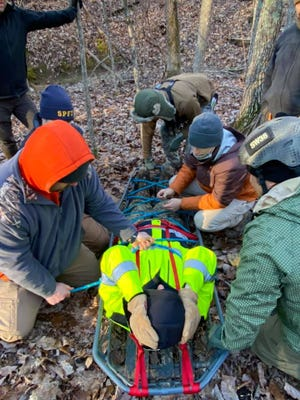 Under harsh conditions, Randolph County law enforcement completed training in practical and educational skills.