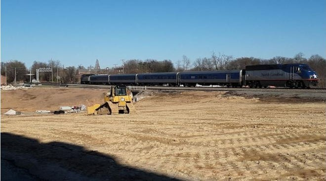 The City of Lexington has started a $41 million passenger rail stop/Fifth Street extension project to be located at the former Lexington Home Brands Plant No. 1, which was destroyed in a fire in 2017.