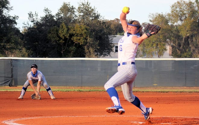 Deltona freshman Sophie Strempel struck out 20 batters in her first varsity start, a 3-0 win over Orlando Timber Creek.