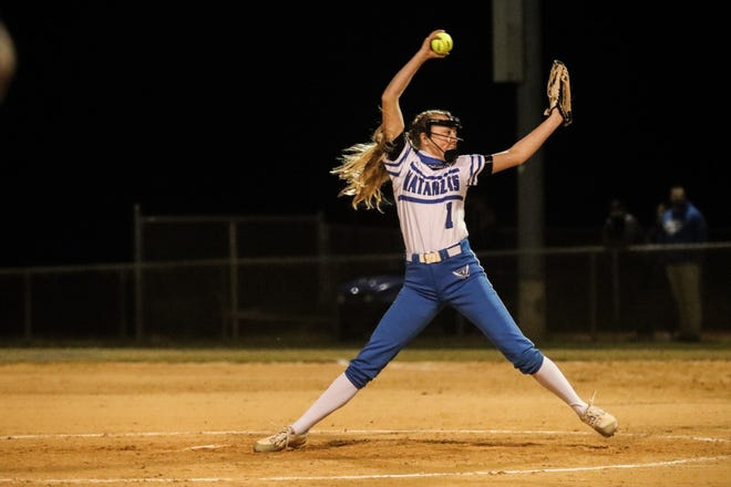 Emma Wood struck out five hitters in Matanzas' 4-1 win over Flagler Palm Coast in softball action Thursday.