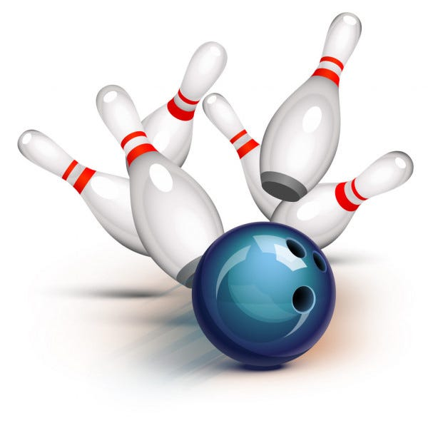 The Coldwater Cardinal bowlers split with Hastings Tuesday as the girls dropped their first loss of the 2021 season