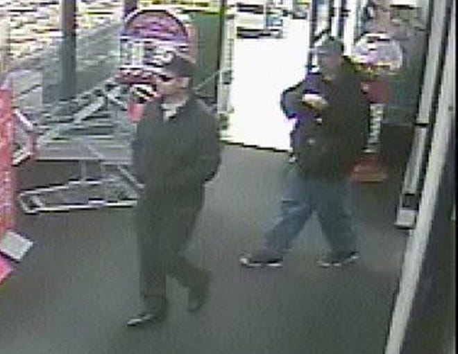 MillcreekTownship police said two men were captured on surveillance video on April 22, 2018 at the now-closed Kmart store on West 26th Street. Police said they took more than $20,000 worth of jewelry from the store. Federal authorities have identified and charged the two men in the Kmart theft and in thefts from businesses in four other states. The Millcreek Kmart went out of business in March 2019.