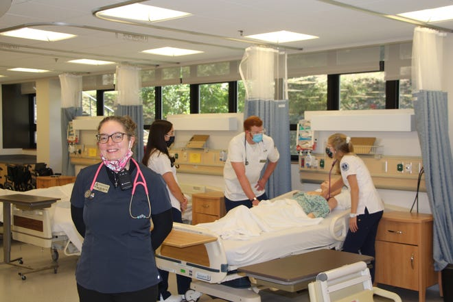The Bethesda Foundation of Hornell has granted monies for 2021 scholarships for nursing students at Alfred State, such as those taught by professor Jess Lippa.