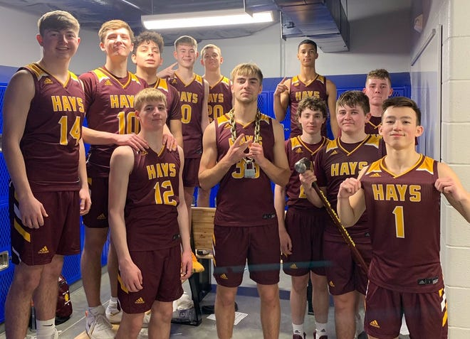 The Hays High boys wrapped up an outright WAC championship on Tuesday with a win at Dodge City.