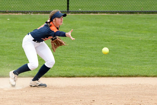 Senior infielder Savannah Dixon