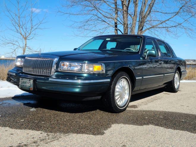 The Time Machine: 1996 Lincoln Town Car.