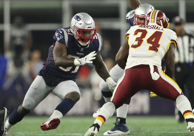 Patriots linebacker Ja'Whaun Bentley is coming off the best season of his career after he took over for Donta Hightower who opted out of last season. Hightower is expected to be back in 2021.