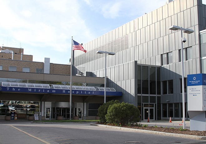 The Miriam Hospital, where the state's first  COVID patient was admitted in late February 2020.