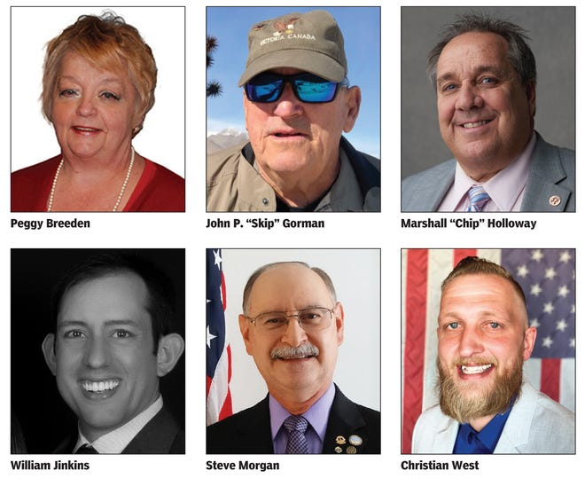 Council candidates who have applied to fill the vacancy on the Ridgecrest City Council in February 2021.
