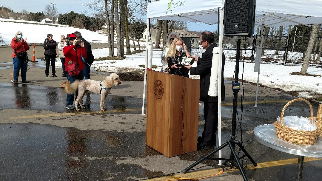 Dick Goddard gets a dog park for his birthday