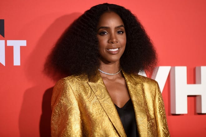 """In this Jan. 28, 2019, file photo, Kelly Rowland attends the premiere of """"What Men Want"""" in Los Angeles. Rowland released an EP titled """"K,"""" featuring six tracks heavily influenced by Afrobeat rhythms."""