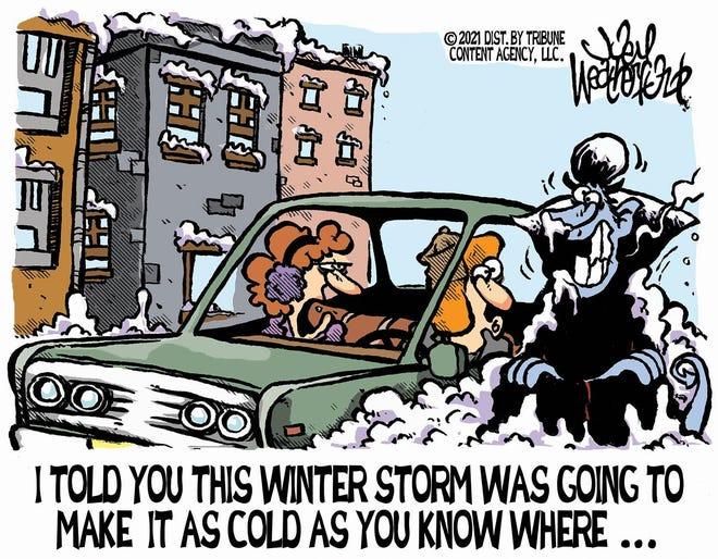 Weatherford cartoon: Winter storms