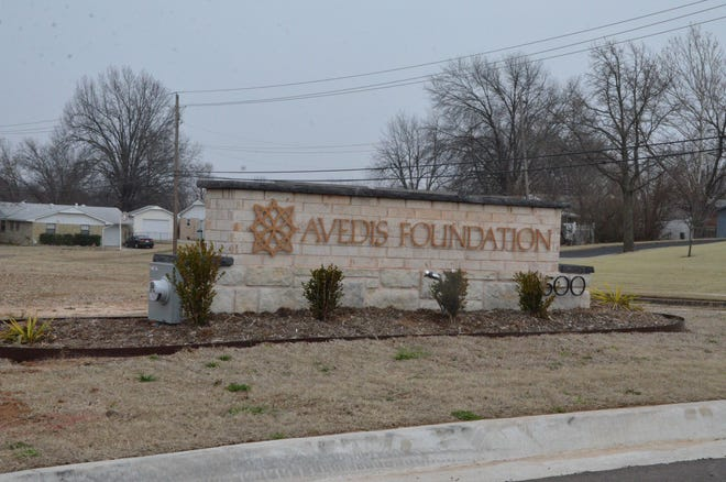 The Avedis Foundation, at 1500 E. Independence, in Shawnee.