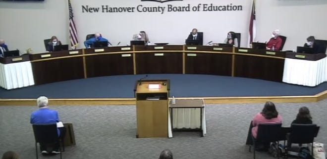 New Hanover County Board of Education meets on Feb. 10, 2021
