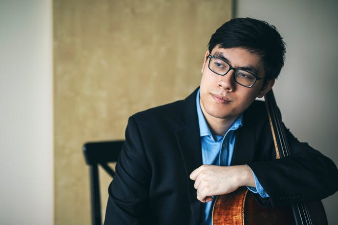 Cellist Zlatomir Fung filmed a recital at the BrickBox Theater in January, which will be available on demand from Music Worcester from 4 p.m. Sunday, through 10 p.m. March 7.