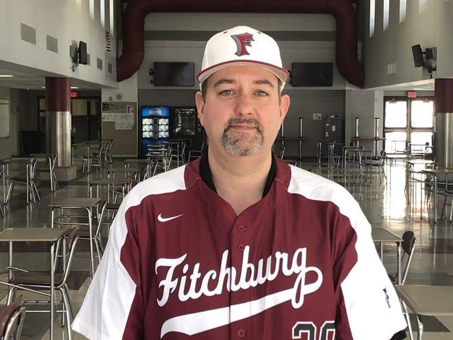 Fitchburg High baseball coach Chad Garner.