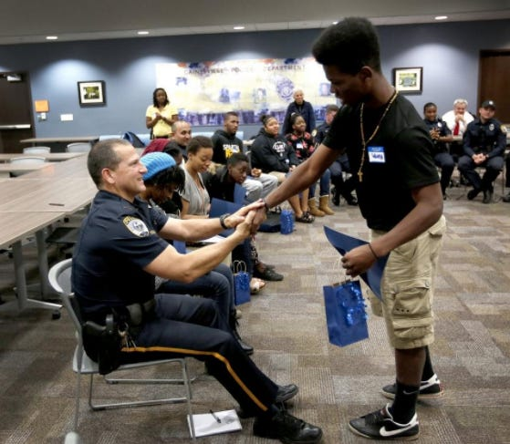 Over the past seven-plus years, the River Phoenix Center for Peacebuilding and local law enforcement have conducted over 110 police youth dialogues with over 1,200 officers and 2,000 youth participating in discussions to reveal different perspectives, explore implicit bias, and to gain insight and a deeper understanding of one another.