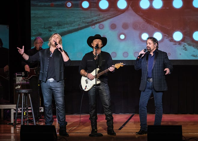 The Crawford County Concert Association will presentThe Texas Tenors at 7 p.m. Dec. 7 at the Bucyrus Elementary School Auditorium, 245 Woodlawn Ave.