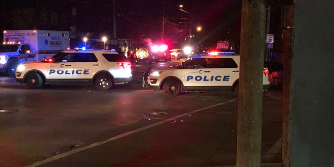 A Cincinnati police SWAT unit was at a hostage situation at Woolpert and Vine streets overnight Tuesday.
