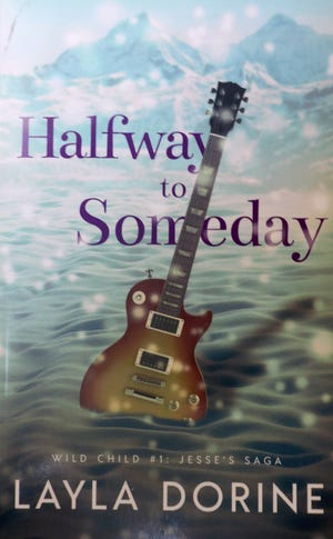 """Halfway to Someday,"" a psychologically engaging novel by Osage, Iowa, author Layla Dorine."