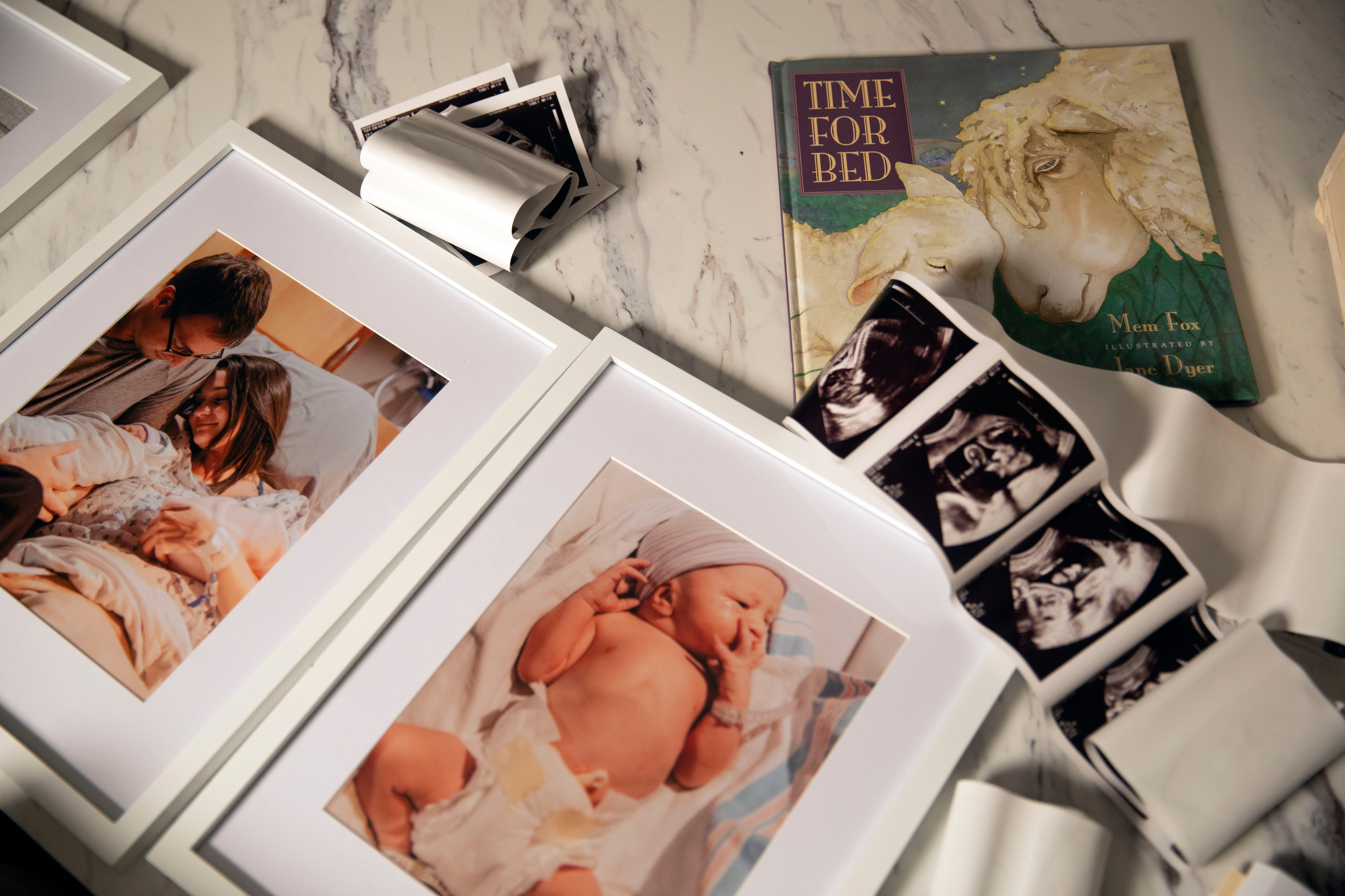 Clayton Harreld says Cherish Shuka did a really good job capturing the good memories of their twins' birth and what the Harrelds want to remember about their daughter, Blakely.