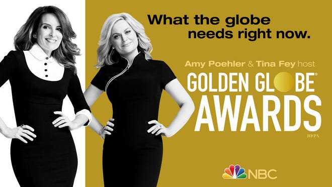 The 78th Annual Golden Globe Awards will be hosted by Tina Fey and Amy Poehler.