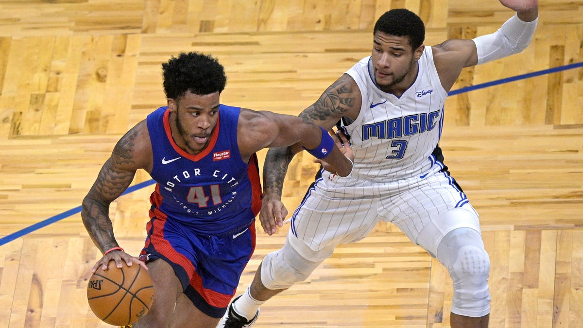 Pistons beat Magic 105-93 with help from young guards 2