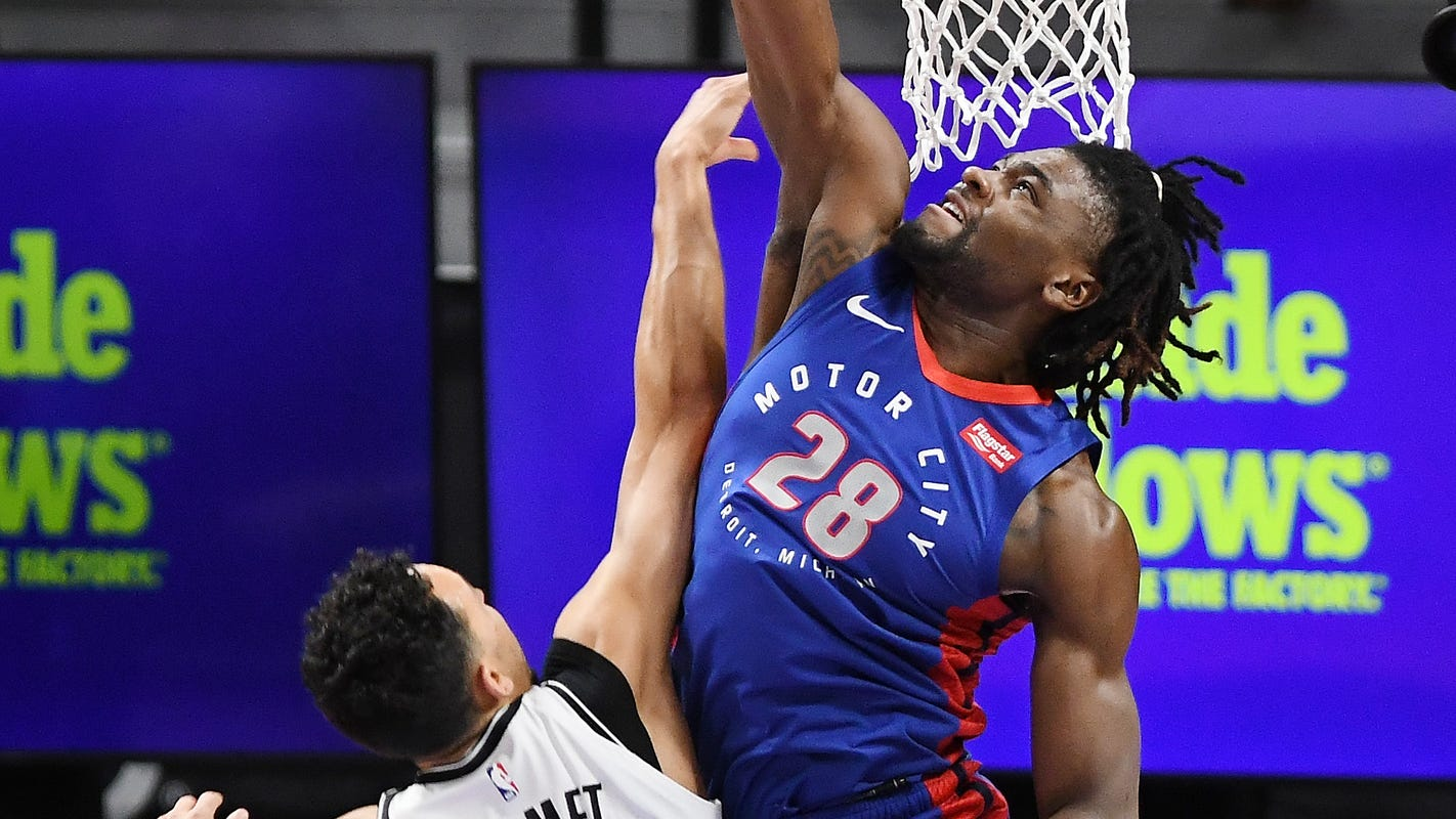 Pistons' second-half schedule revealed; here is who they're playing