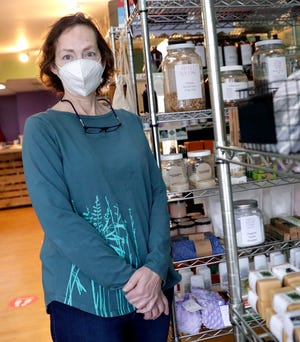 Heather Herdman, owner of Sweet Willow Herbal Co-Op, is among a number of small businesses that were unable to tap federal aid to help businesses weather the coronavirus pandemic.