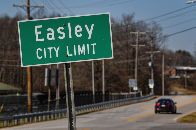 Easley growth within the city limits is happening at a higher rate than many cities in the Upstate.