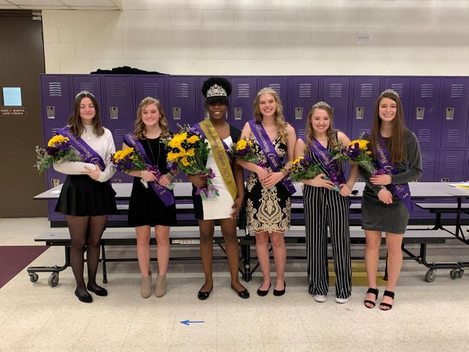 The 2021 Homecoming Queen is senior India Hector. The attendants were: Freshman Emily Blevins, sophomore McKenzie Gossel-Smith, junior Kalani Maynard, and senior attendants Aimee Foltz and Kendyl Schilling.