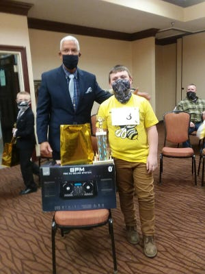 Charlie Cotter from Ontario is the winner of this year's Richland County Third Grade Spelling Bee.
