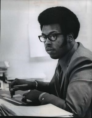 Dwight Benning, shown in this 1971 photo, was one of the NAACP's original  Milwaukee Commandos.