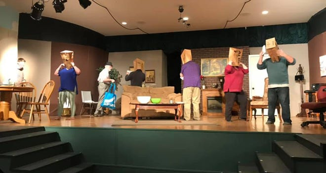 """Millbrook Community Players' production of """"The Nerd"""" opens Thursday."""