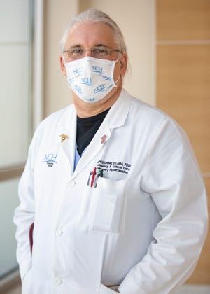 Dr. David Lindner has been selected NCH's 2020 Physician of the Year. Lindner, who specializes in pulmonary disease and critical care, is medical director of NCH's COVID-19 response team.