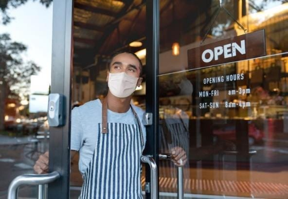 Face masks are optional in most New Mexico retail businesses and public offices for people who are fully vaccinated.