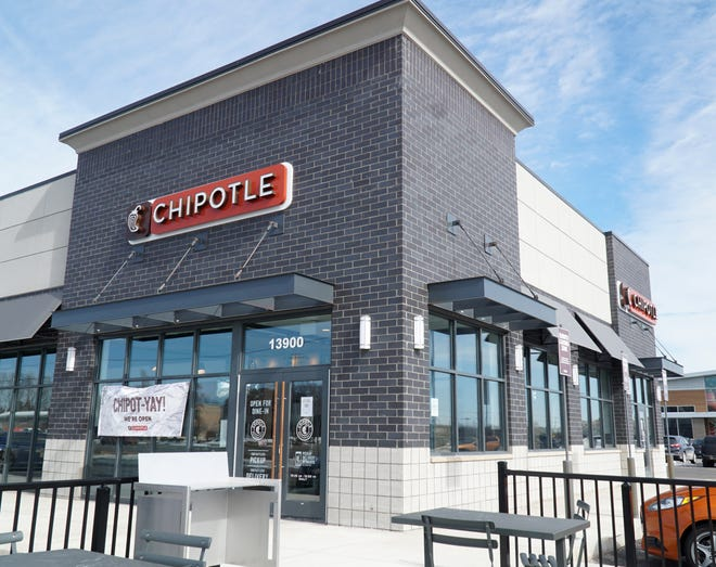 A new Chipotle has opened at 13900 Middlebelt in Livonia.