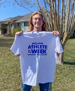 Athlete of the Week - Caleb Thompson -soccer goal keeper at Tate High School