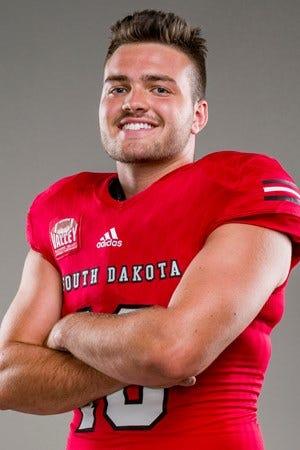 South Dakota quarterback Carson Camp