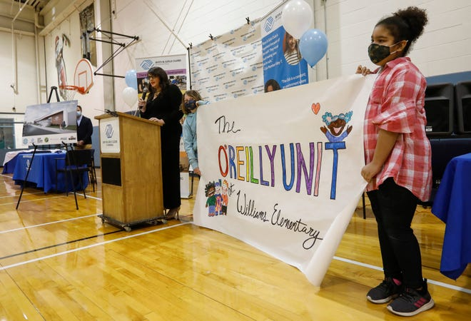 In February 2021, the name of the O'Reilly Unit was unveiled during an announcement about the new Boys and Girls Club located at Williams Elementary .
