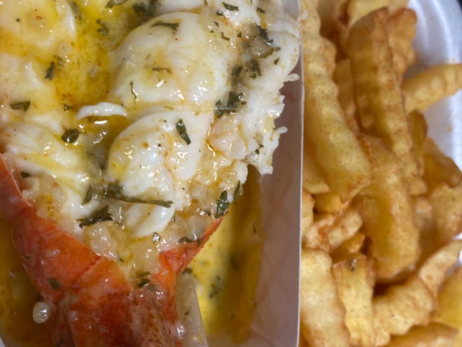 The first-ever Treasure Coast Garlic Festival features food options that include garlic-butter lobster.