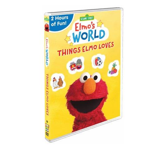 Sesame Street – Elmo's World: Things Elmo Loves