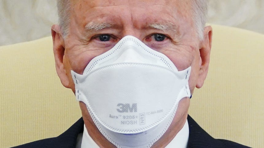 Biden administration to send 25m masks