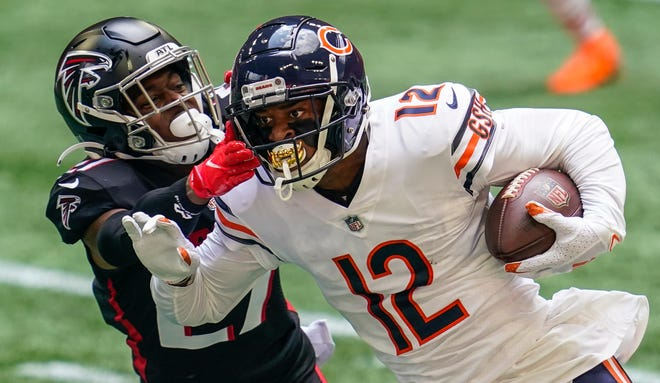 Allen Robinson had 1,260 yards and 6 TDs receiving for the Bears in 2020.